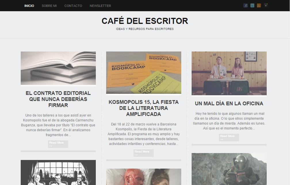Blogs literarios: Café del escritor