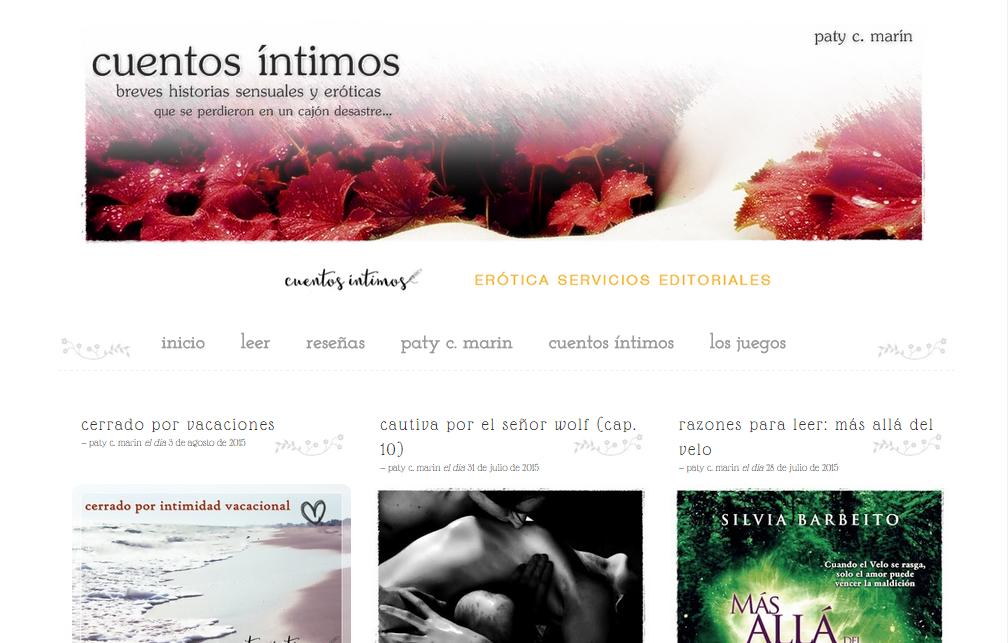 Blogs literarios: Cuentos íntimos