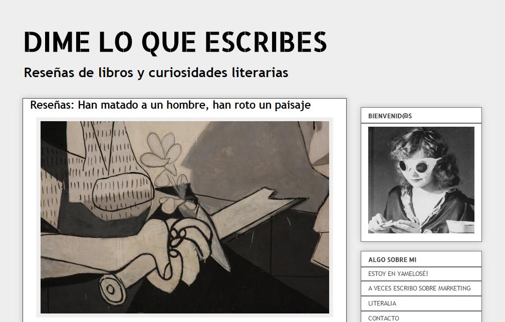 Blogs literarios: Dime lo que escribes