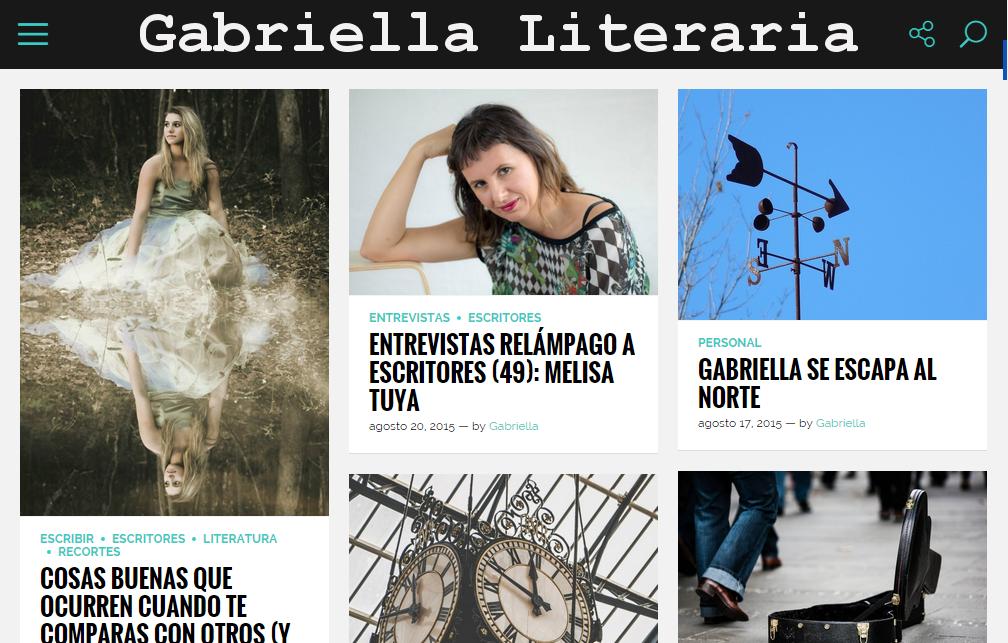 Blogs literarios: Gabriella Literaria