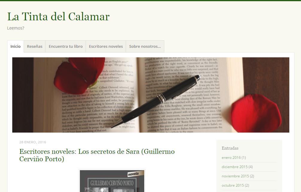Blogs literarios: La tinta del calamar