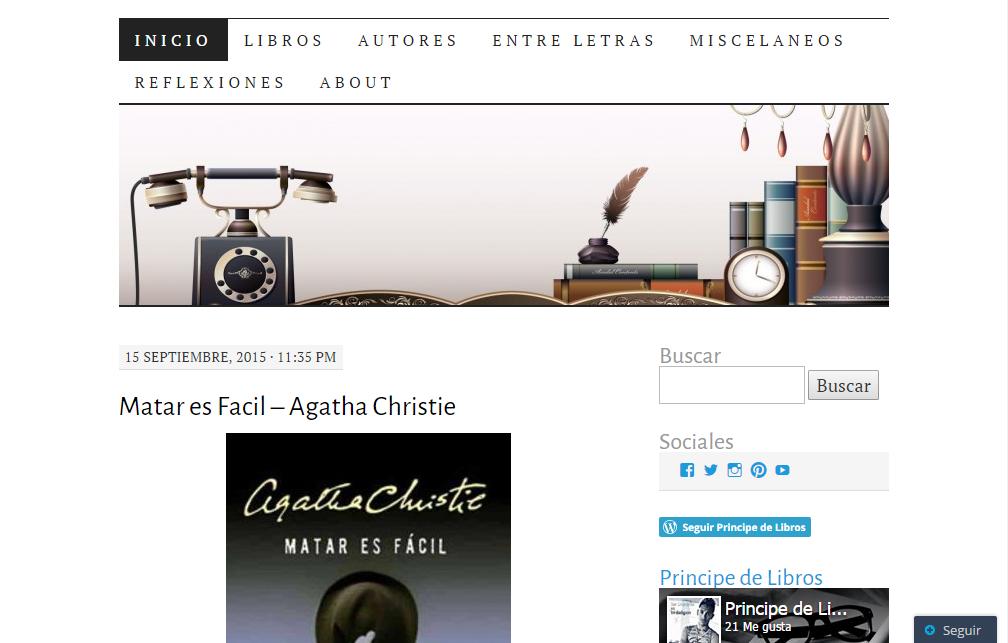 Blogs literarios: Príncipe de libros