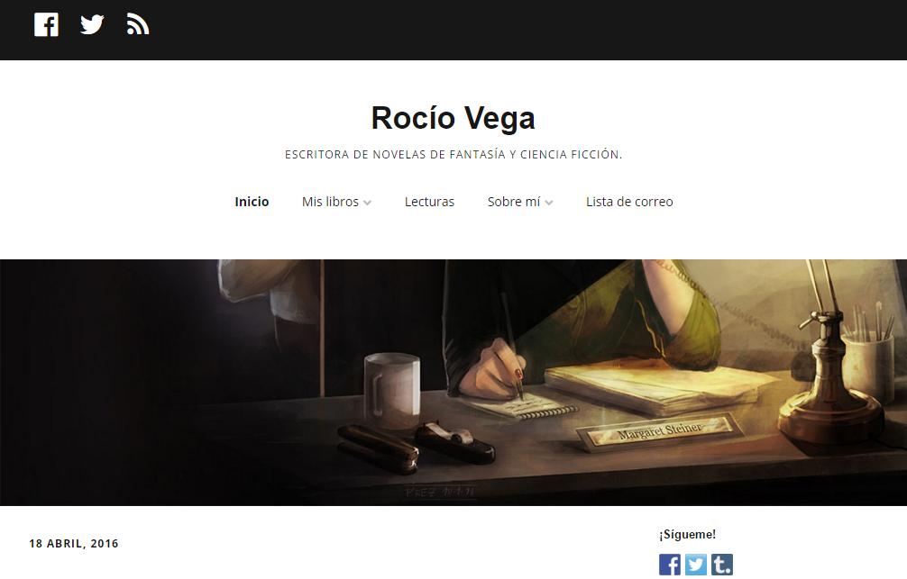 Blogs literarios: rocio vega