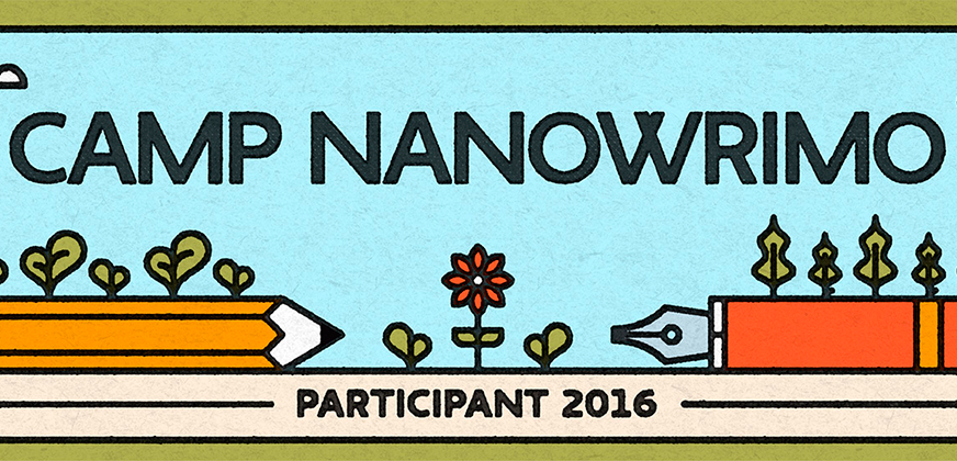 ¡Nos vamos al Camp NaNoWriMo!